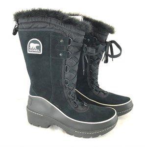 Sorel Tivoli III High Womens Boots Suede Faux Fur